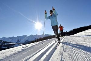 Le ski de fond à Formiguères