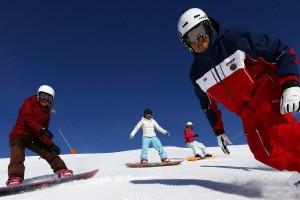 Cours de snowboard à Formiguères