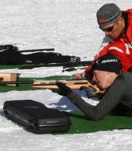 Cours de biathlon laser - Formiguères