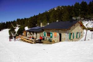 Col del Torn, rendez-vous des skieurs de fond