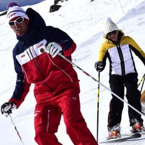 Les cours de ski de l'ESF de Formiguères