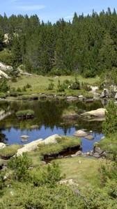 Randonnée des lacs du Carlit, site classé des Bouillouses