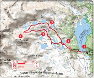 Randonnée les lacs du Carlit, site classé des Bouillouses