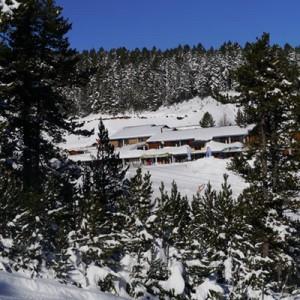 Pistes de ski Formiguères