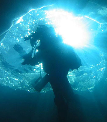 Plongée sous glace - Formiguères
