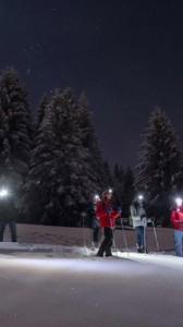 Randonnées en raquettes nocturnes à Formiguères