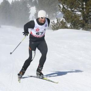 Compétition de ski de fond à Formiguères