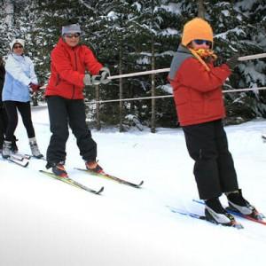 Pratiquer le ski de fond en famille à Formiguères