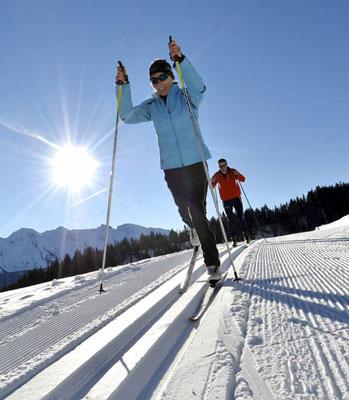 Pratiquer le ski de fond à Formiguères