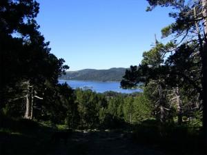 Vue du lac des Bouillouses