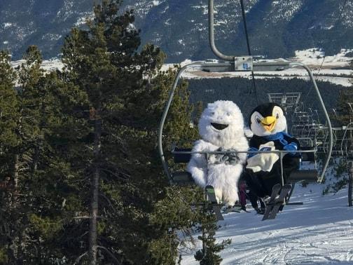 Le domaine skiable de Formiguères