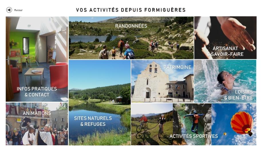 Trouvez vos activités sur Formiguères et alentours !