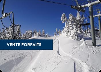 Ventes forfaits de ski