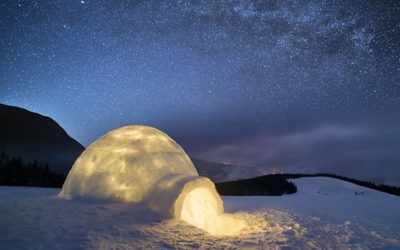 Expérience : Une nuit en igloo